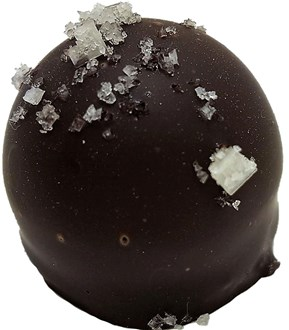 Truffle: Salted Caramel 53% DARK each loose