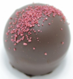 Truffle: Pomegranate 53% DARK each loose